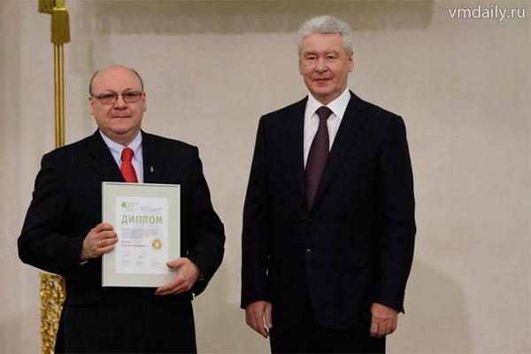 А.Г.Мартов-победитель ежегодного фестиваля московских медиков «Формула жизни» в номинации «Лучший специалист года» по урологии за 2013 г.